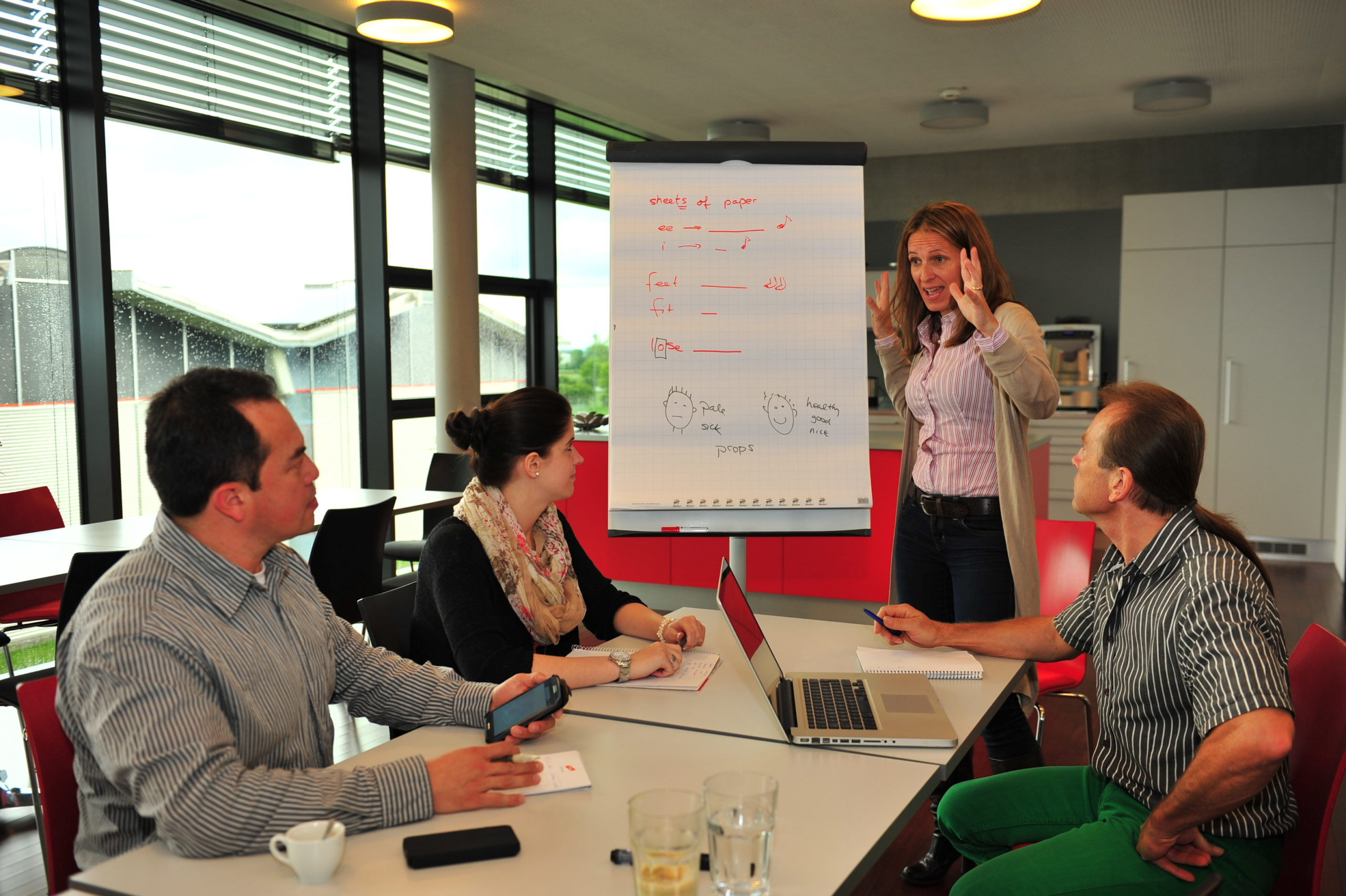 Sprachen lernen für Firmen
